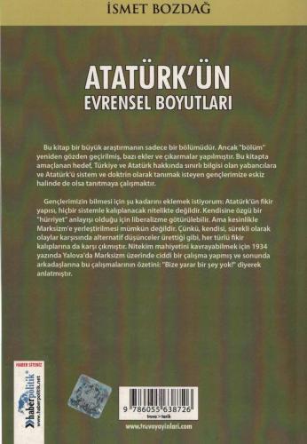 Atatürk'ün Evrensel Boyutları %46 indirimli İsmet Bozdağ