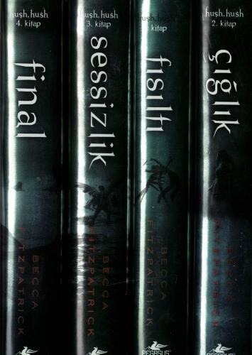 Hush Hush Serisi 4 Kitap (Ciltli)