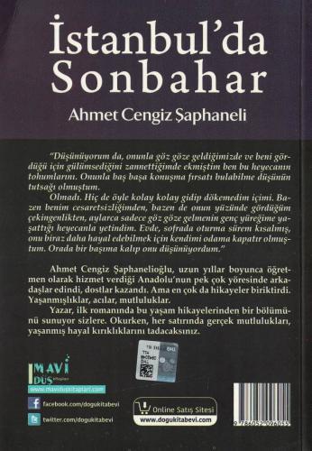 İstanbul'da Sonbahar %60 indirimli Ahmet Cengiz Şaphaneli