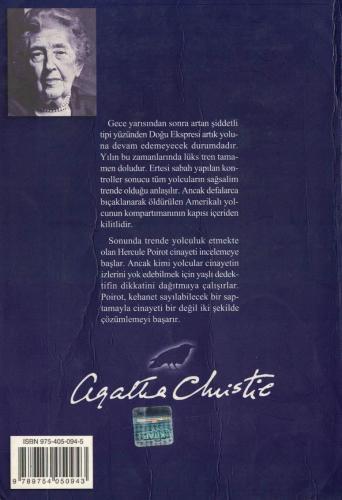 Doğu Ekspresinde Cinayet %69 indirimli Agatha Christie