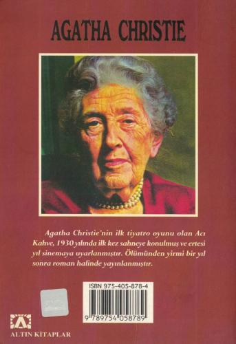 Acı Kahve %63 indirimli Agatha Christie