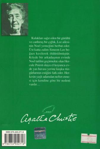 Noel'de Cinayet %52 indirimli Agatha Christie