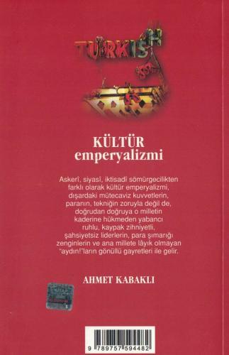 Kültür Emperyalizmi %65 indirimli Ahmet Kabaklı