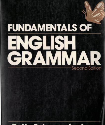 Fundamentals of English Grammar ( Second Edition )