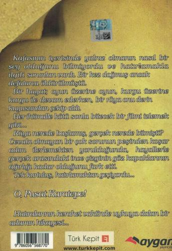 Kara Kama Günlükleri %65 indirimli Harun Bora Tunç
