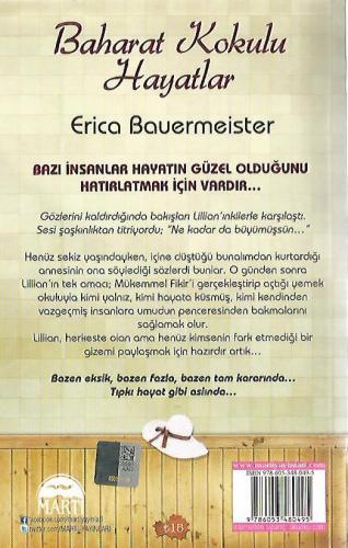 Baharat Kokulu Hayatlar %55 indirimli Erica Bauermeister
