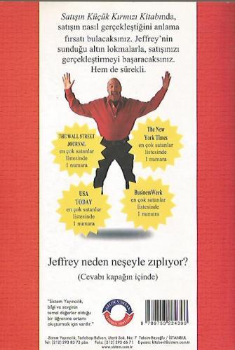 Satışın Küçük Kırmızı Kitabı %28 indirimli Jeffrey Gitomer