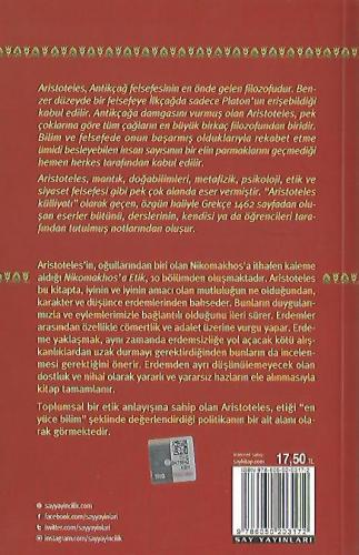 Nikomakhos'a Etik Aristoteles