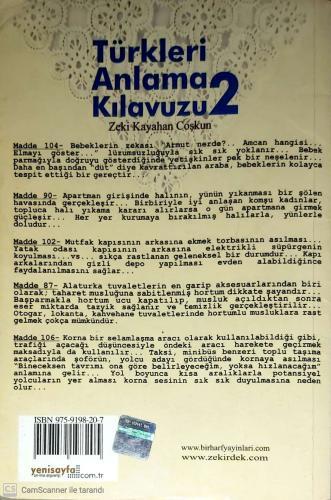 Türkleri Anlama Kılavuzu 2 Stand-up Tadında! %37 indirimli Zeki Kayaha