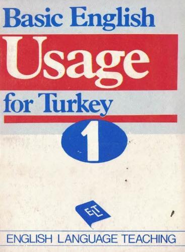 Basic English Usage for Turkey Anonim
