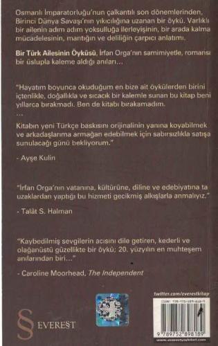 Bir Türk Ailesinin Öyküsü (Cep Boy) irfan Orga