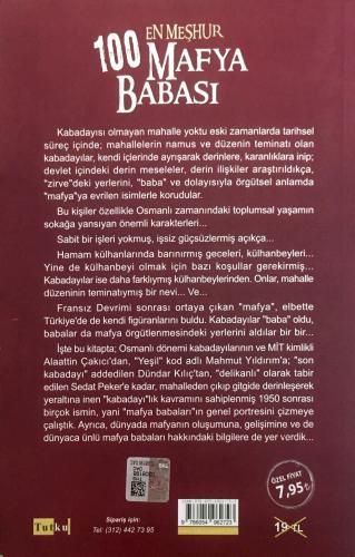 En Meşhur 100 Mafya Babası Fatih Alemdar
