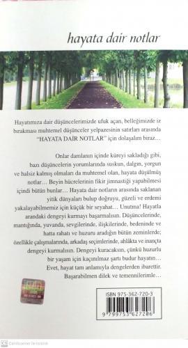 Hayata Dair Notlar Ahmed Günbay Yıldız