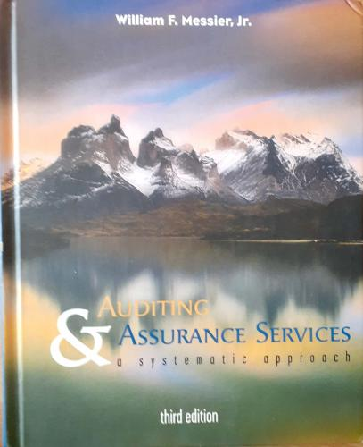 Auditing & Assurance Services William F.Messier Jr.