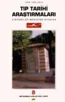 Tıp Tarihi Araştırmaları -8-