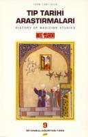 Tıp Tarihi Araştırmaları -9-
