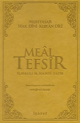 Muhtasar Hak Dini Kur'an Dili  Meal Tefsir Orta Boy