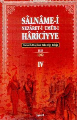 Osmanlı Hariciye Salnameleri 4 Cilt Takım