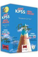 Yargı 2019 KPSS Eğitim Bilimleri Değişim Konu Anlatımlı Modüler Set Yeni
