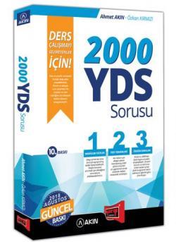 Akın Dil & Yargı Yayınları 2000 YDS Sorusu Ders Çalışmayı Sevmeyenler İçin 10. Baskı