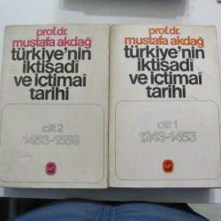 türkiyenin iktisadi ve içtimai tarihi cilt 1-2