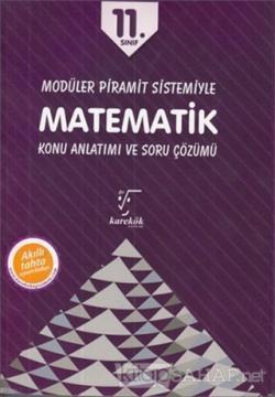 11. Sınıf Modüler Piramit Sistemiyle Matematik Konu Anlatımı ve Soru Çözümü