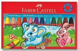 12 RENK PASTEL BOYA KARTON KUTU FABER CASTELL