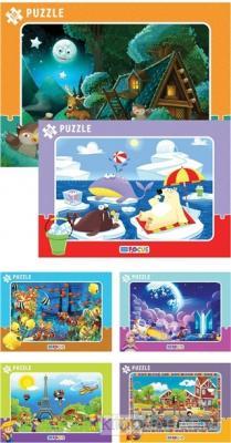130 Parça Puzzle (6 Çeşit) - Frame Puzzle