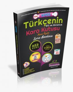 KPSS Türkçenin Karakutusu Dil ve Anlatım Konu Özetli Soru Bankası