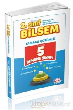 2. Sınıf Bilsem Çözümlü 5 Deneme Sınavı