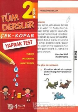 2. Sınıf Tüm Dersler Çek-Kopar Yaprak Test