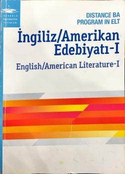 ingiliz amerikan edebiyatı 1