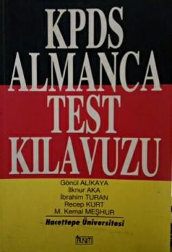 KPDS ALMANCA TEST KILAVUZU