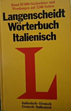 Langenscheidt Wörterbuch Italienisch