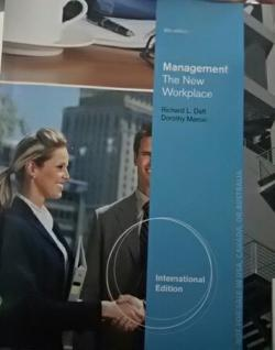 MANAGEMENT THE NEW WORKPLACE