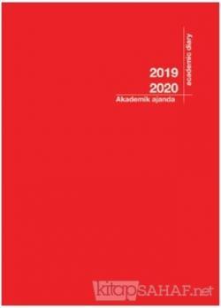 Akademi Çocuk 2019-2020 3056 Akademik Ajanda Kırmızı