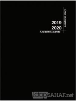 Akademi Çocuk 2019-2020 3055 Akademik Ajanda Siyah