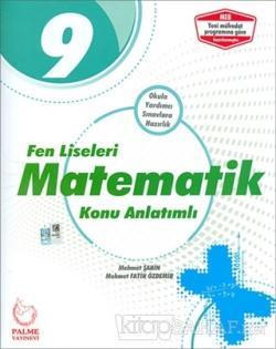 2019 9. Sınıf Fen Liseleri Matematik Konu Anlatımlı