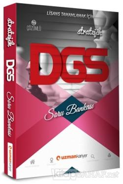 2019 DGS  Stratejik Soru Bankası
