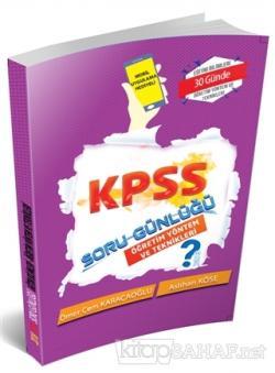 2019 KPSS Soru Günlüğü - Öğretim Yöntem ve Teknikleri