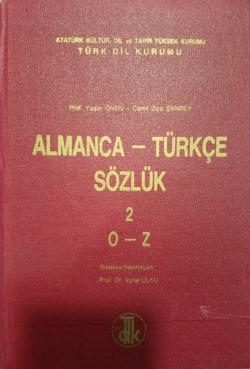 Almanca Türkçe Sözlük ( o-z 2. cilt )