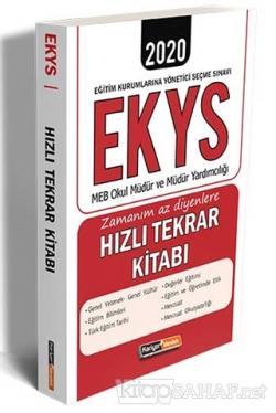 2020 EKYS MEB Okul Müdür ve Müdür Yardımcılığı Zamanım Az Diyenlere Hızlı Tekrar Kitabı