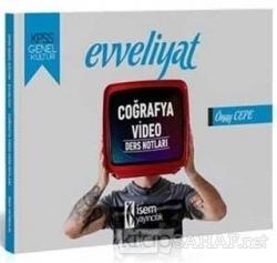 2020 Evveliyat KPSS Genel Kültür Coğrafya Video Ders Notları