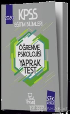 2020 KPSS Eğitim Bilimleri Öğrenme Psikolojisi Yaprak Test