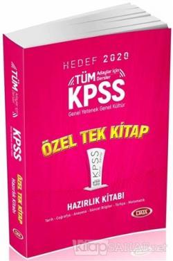 2020 KPSS Genel Yetenek – Genel Kültür Konu Anlatımlı Tek Kitap