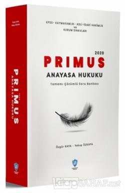 2020 PRIMUS Anayasa Hukuku Tamamı Çözümlü Soru Bankası
