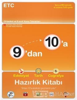2021 - 9'dan 10'a Edebiyat Tarih Coğrafya Hazırlık Kitabı