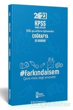 2021 KPSS Genel Kültür Coğrafya - 20 Deneme