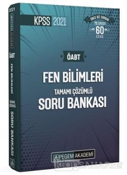 2021 KPSS ÖABT Fen Bilimleri Fen ve Teknoloji Tamamı Çözümlü Soru Bankası Seti - 4 Kitap