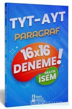 2021 TYT-AYT Pratik İsem Kazandıran Paragraf 16x16 Deneme